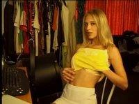Приват с бесподобной блондинкой онлайн через вебку