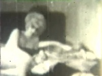 Век тому назад отснятое порно видео в кровати