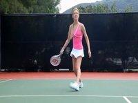 Теннисистку отымели в анальчик после партии