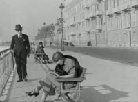 Французское чёрное-белое винтажное порно